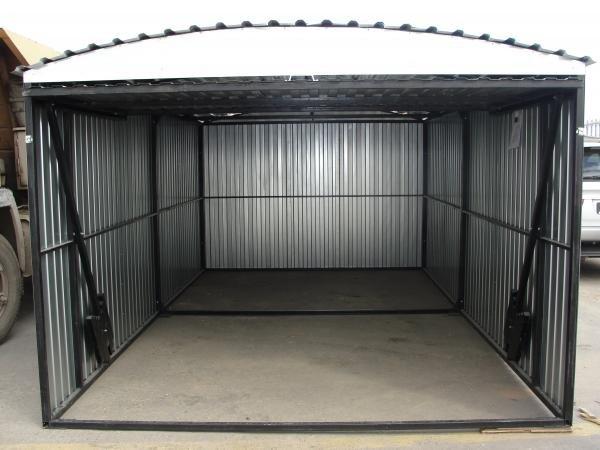 Сборные гаражи своими руками
