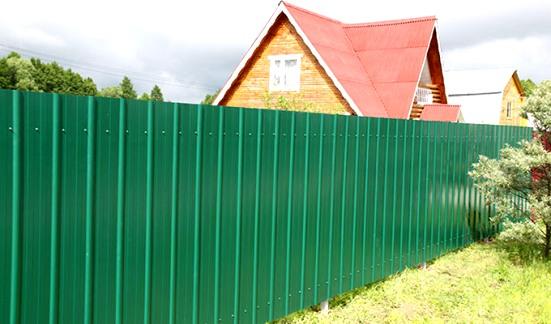 Как построить красивый забор своими руками 453